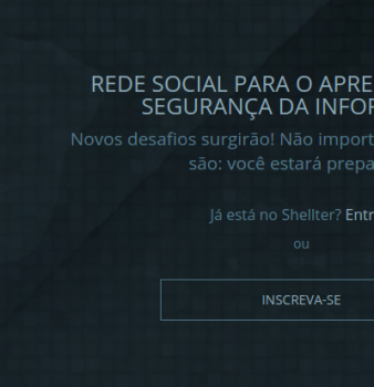 Shellter Labs – A rede social BR dos CTFs