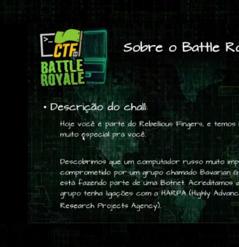 Write-up CTF-BR Battle Royale 2020