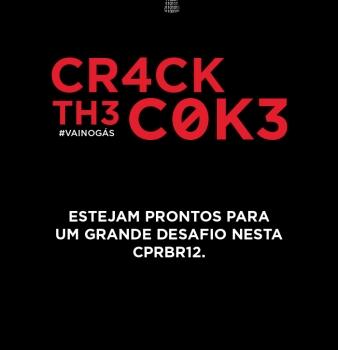 CTF-BR + Coca = cr4ck th3 c0k3 na #CPBR12